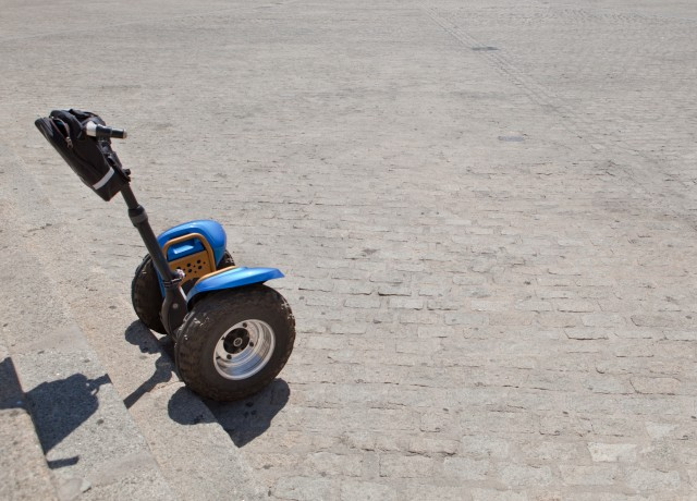 Segways vehicles for rent