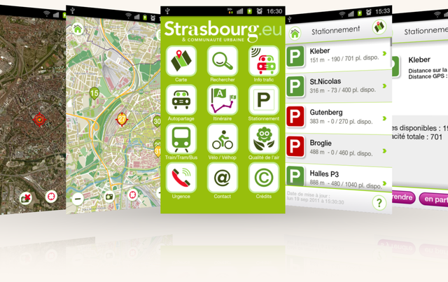 L'application du mois : StrasMap