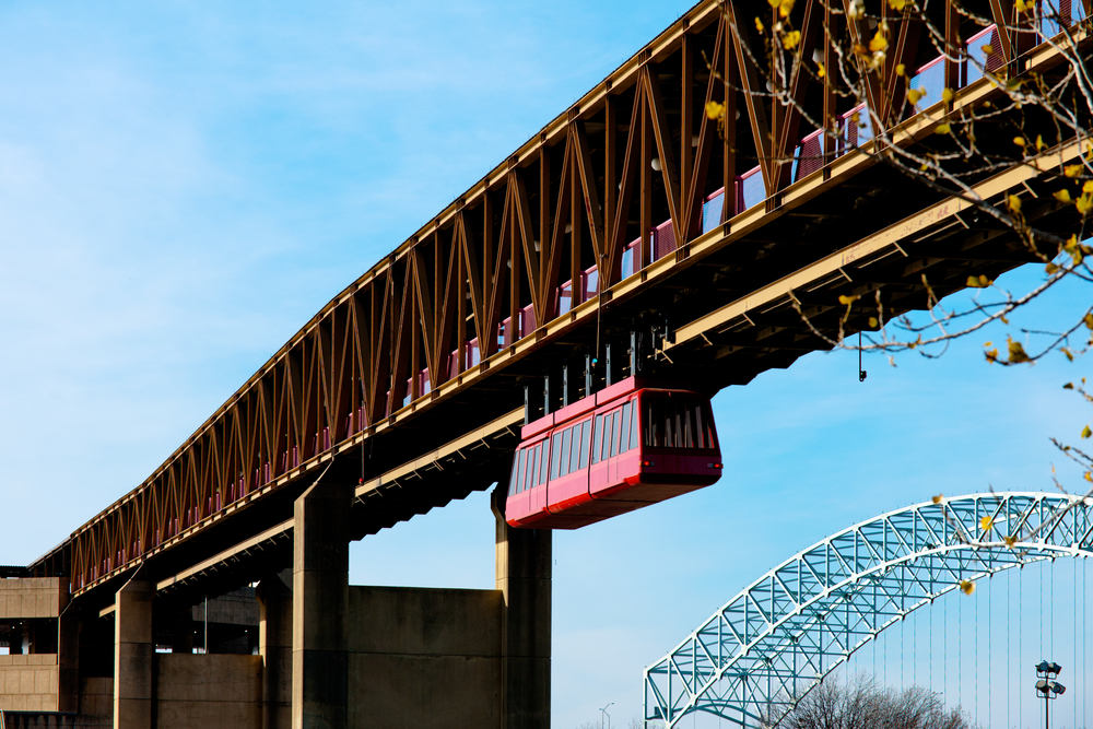 Memphis Suspension Railway ou Mud Island Monorail