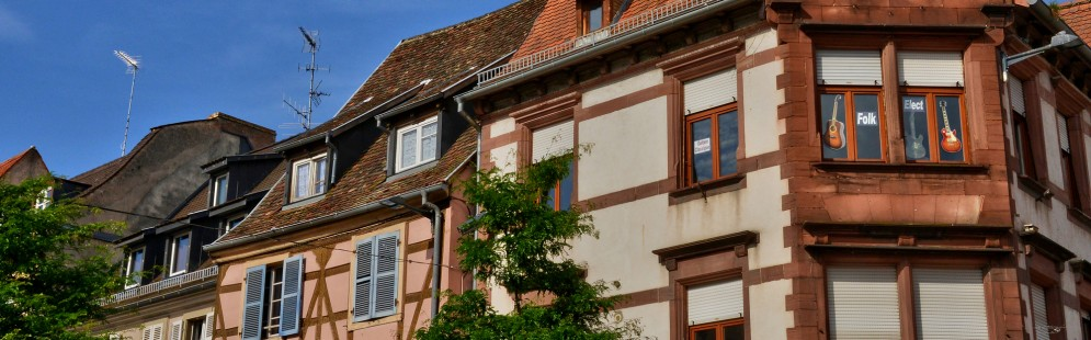 France, the picturesque city of Haguenau in alsace