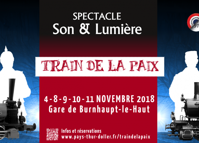 Train de la Paix - Spectacle Burnhaupt-le-Haut