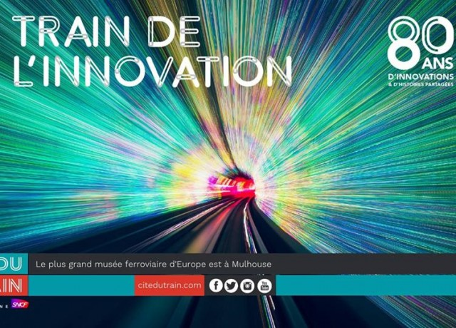 Du 10 au 14 octobre : le Train de l'Innovation est à Mulhouse !