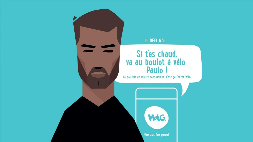 L'application du mois : WAG « we act for good » du WWF
